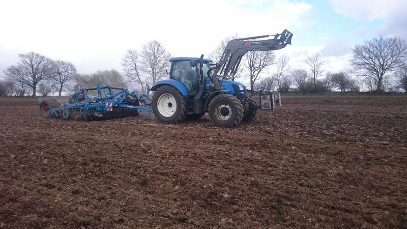 New Holland T 6.155 Foto 1