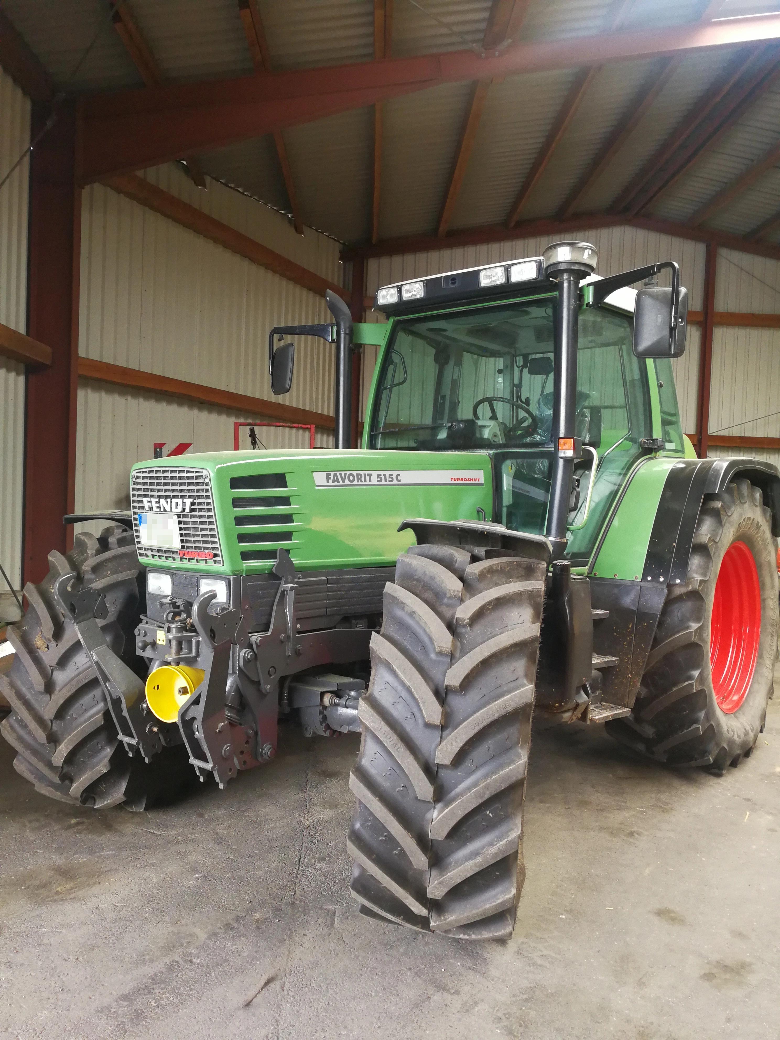 Fendt Favorit 515 C Testberichte   Traktortest