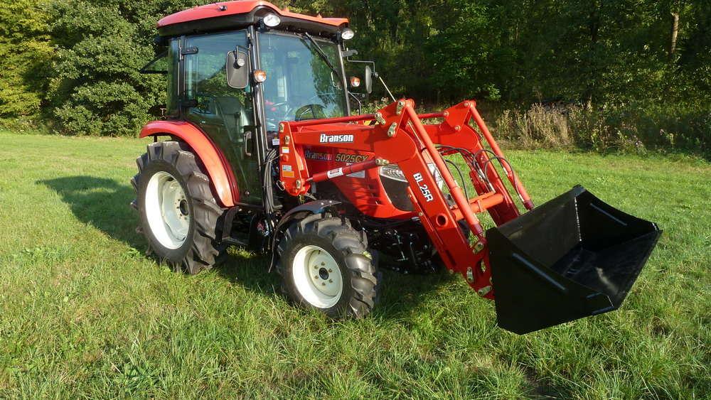 Branson 5025 CX Testberichte | Traktortest