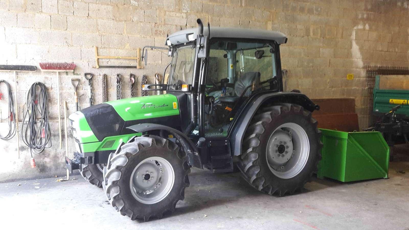 deutz fahr agroplus 315 ecoline testberichte traktortest. Black Bedroom Furniture Sets. Home Design Ideas